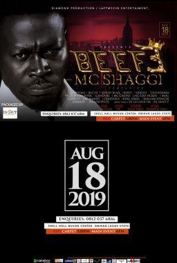 BEEF 3 MC SHAGGI