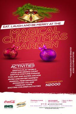 Magical Christmas Garden