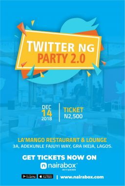 Buy tickets for Twitter NG Party 2 0 - 9pay - Digital