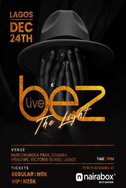 BEZ LIVE IN LAGOS